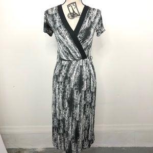Max Mara Faux Wrap Dress